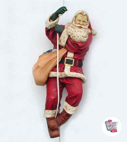 Decorazione di figura Natale Babbo Natale Abbassamento per Corda