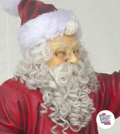 Decorazione di figura Natale Babbo Natale che si siede