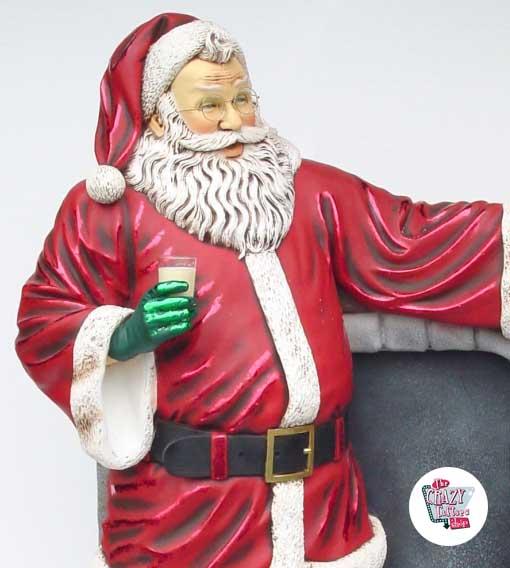 Figur Julemanden Juledekoration med pejs