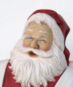 Figure Decoration Christmas Santa Claus with Cake