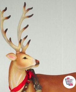 Figurindretning Julrener Julemanden