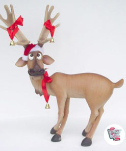 Figura Decorazione Natale Reindeer Paws Crossed