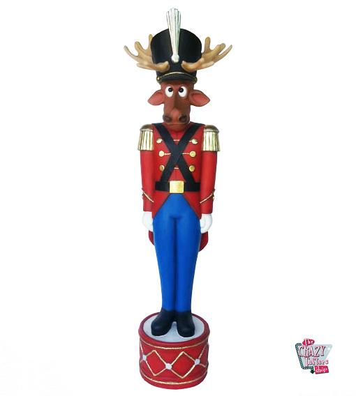 Figur dekoration weihnachten rentier lead soldier for Rentier dekoration