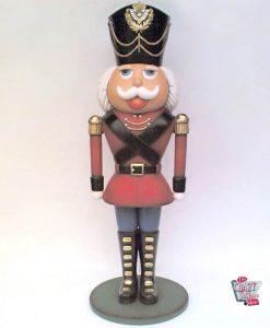 Figura Decoración Navidad Soldadito de Plomo Cascanueces