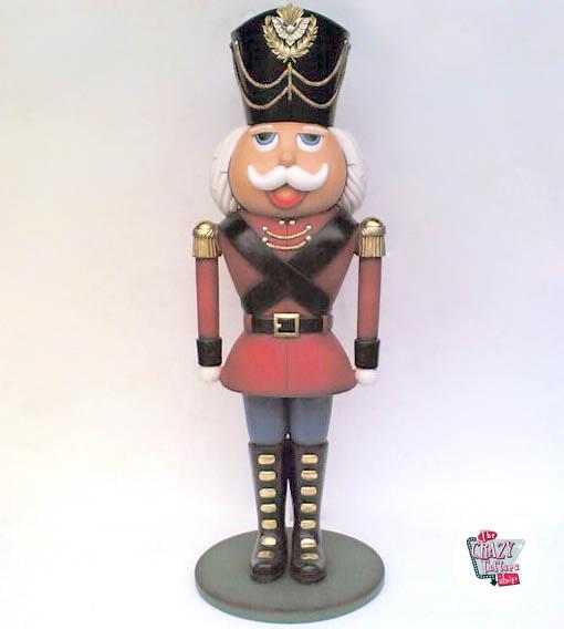 Decorazione di figura Natale Soldadito di Schiaccianoci Di Piombo