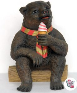 Figura Orso Decoration Ice Cream