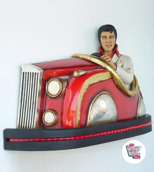 Figur Dekoration Elvis radiobil