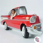 Figura Decoración Elvis Chevy 57