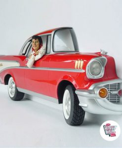 Figura Decoración Elvis Chevy 57