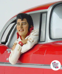 Figure Décoration Elvis Chevy 57
