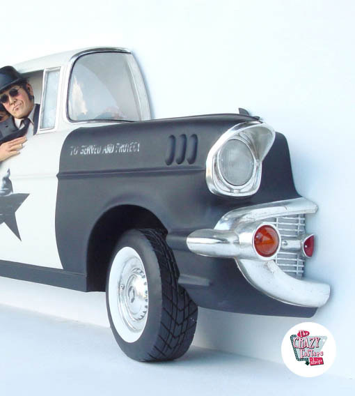 Figur Dekor The Blues Brothers Police
