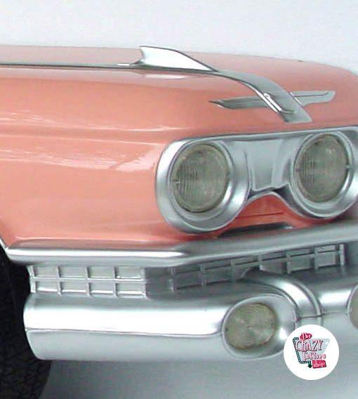 Figura Decoração Marilyn Pink Cadillac