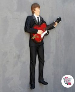 Figure Décoration murale de la guitare acoustique Beatles