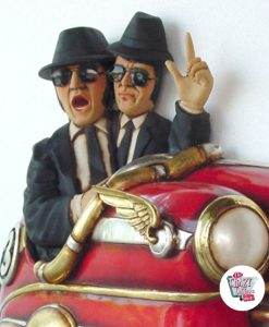 Figur Dekor The Blues Brothers bilulykke