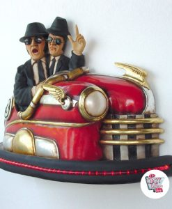 Figure Decoration The Blues Brothers car crash
