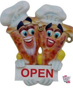 Figur Decoration Pizzería Signal Open
