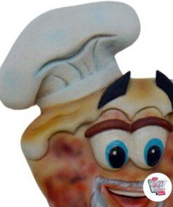 Figur Dekor Pizzeria Signal Restroom menn