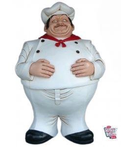 Figur Dekoration Italian Restaurant Chef Kitchen