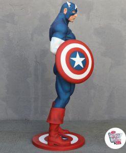 Décoration de personnage Super Hero Captain America