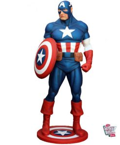 Figura decorazione Super Hero Capitan America