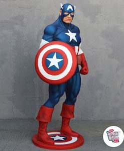 Figure decoration Super Hero Captain America