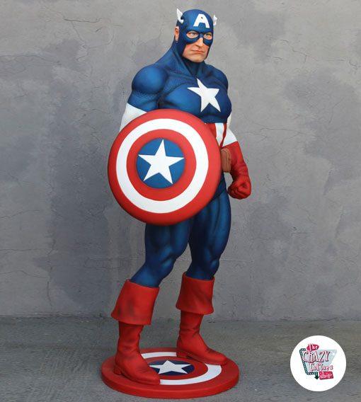 Figura decoración Super Héroe Capitán América