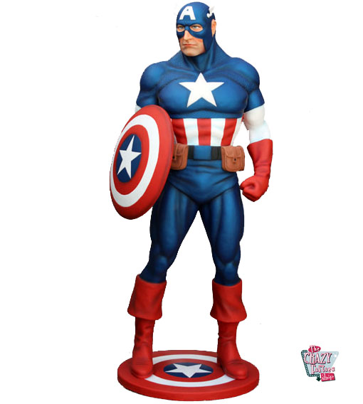 Figur Dekoration Super Hero Captain America