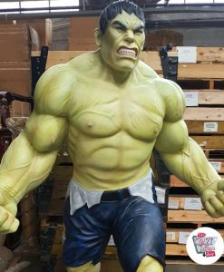 Figura decorazione Super Hero Hulk