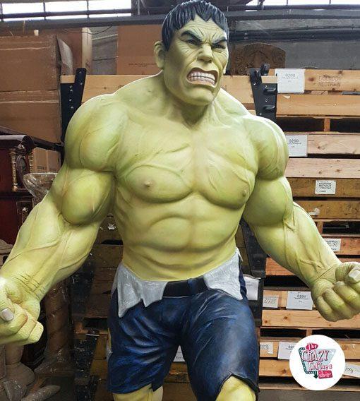 Figura decoración Super Héroe Hulk