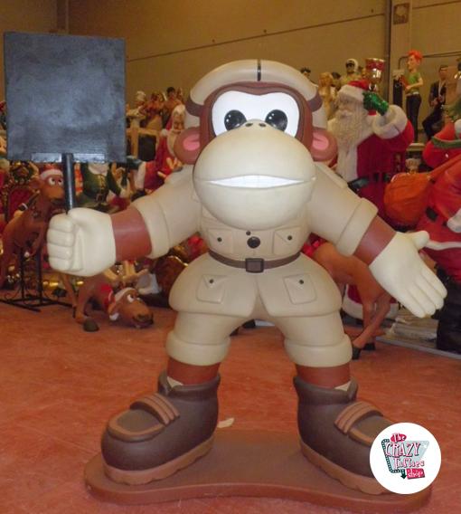 Figura Decoración Temática Donkey Kong con Pizarra