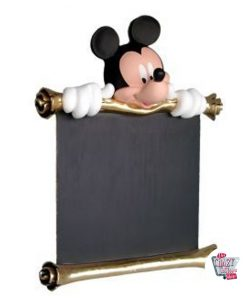Mickey Mouse Theme Decoration Figur med menu