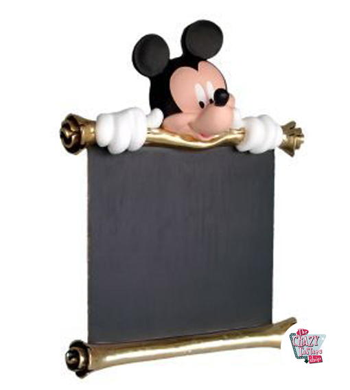 Mickey Mouse Theme Decoration Figur med meny