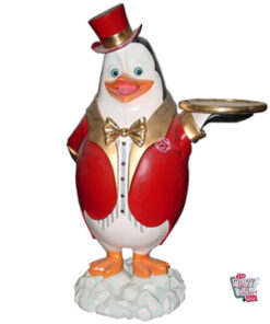 Figur Decoration Theme Penguin Madagascar Servitør