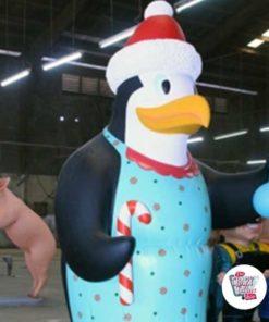 Figurer Dekoration Tema Pingviner Madagaskar Jul