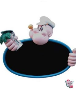 Popeye Theme Figur Dekoration Menu