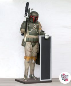 Figur Dekoration Thema Star Wars Boba Fett