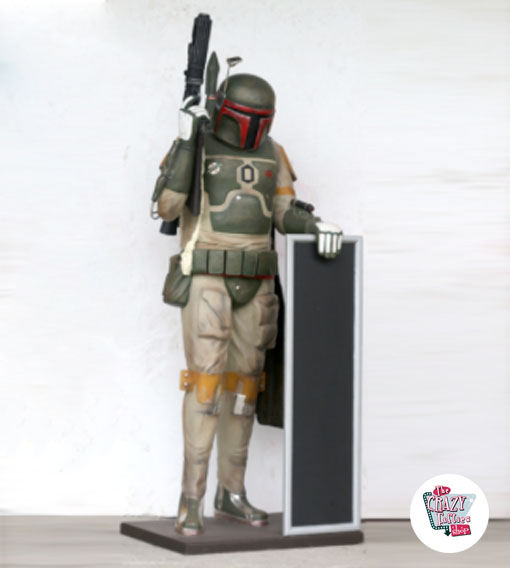 Figur Decoration Theme Star Wars Boba Fett