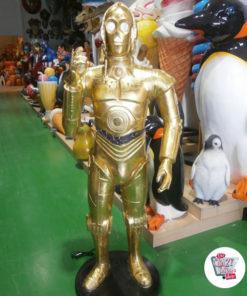 Figura Decorazione a tema Star Wars C-3PO