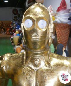 Figura Decoración Temática Star Wars C-3PO