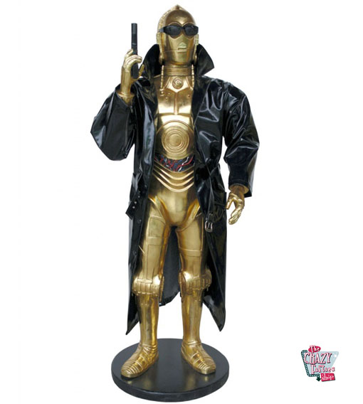 figur dekoration thema star wars c 3po terminator. Black Bedroom Furniture Sets. Home Design Ideas