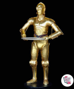Figur Star Wars Themed Decoration C-3PO med bakke