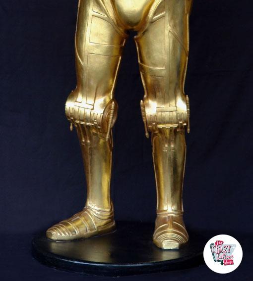Figur Star Wars Themed Decoration C-3PO med bakke