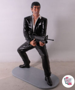 Figura Decoración Tony Montana Scarface