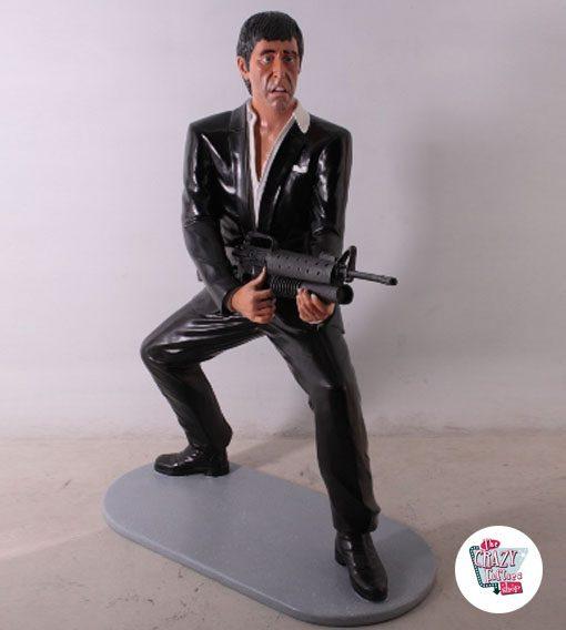 Scarface Tony Montana Figura Decoração