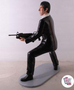 Scarface Tony Montana figur dekorasjon