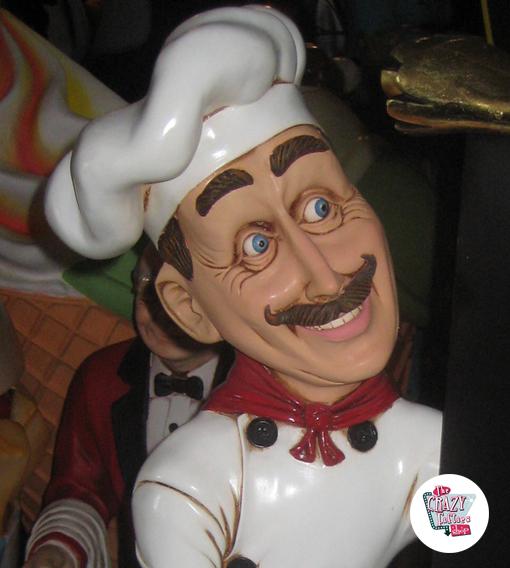 Figur Tema Restaurant italiensk kok med menu