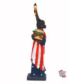 Figure Food Statue of Liberty Burger and Ice Cream