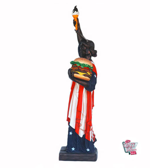 Figur Mat Statue of Liberty Burger and Ice Cream