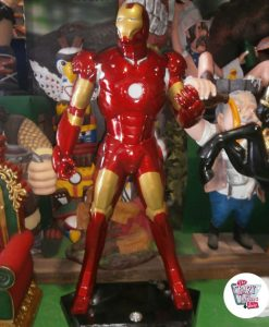Figura Supereroe Iron Man decorazione