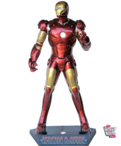 Figure Superhero Iron Man decoration